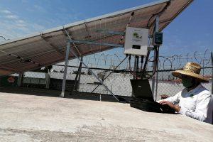 Configuración de inversos para paneles solares